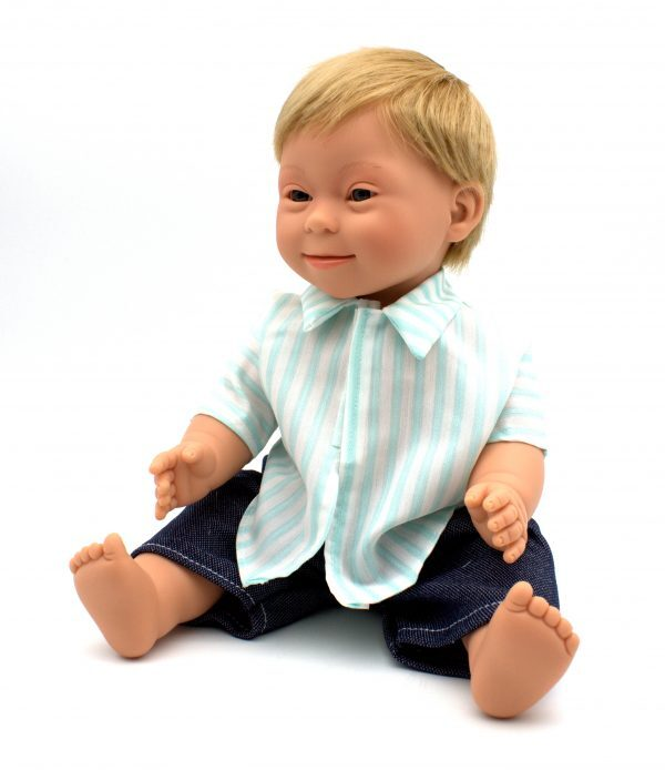 Blonde_Boy_Doll_With_Down_Syndrome__Features